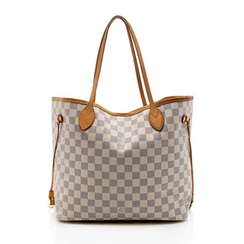 Louis Vuitton Damier Azur Neverfull MM Tote - FINAL SALE