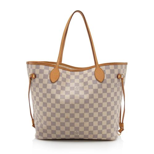Louis Vuitton Damier Azur Neverfull MM Tote