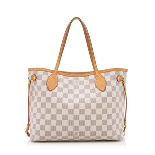 Louis Vuitton Damier Azur Neverfull PM Tote