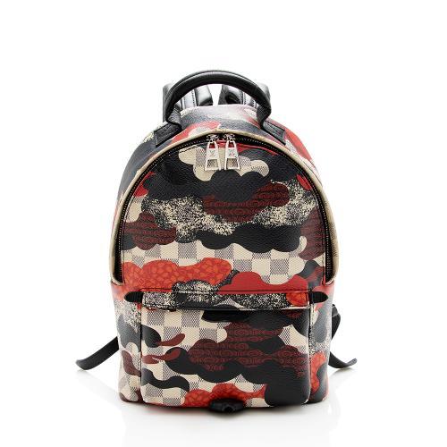 Louis Vuitton Damier Azur Patchwork Waves Palm Springs PM Backpack - FINAL SALE
