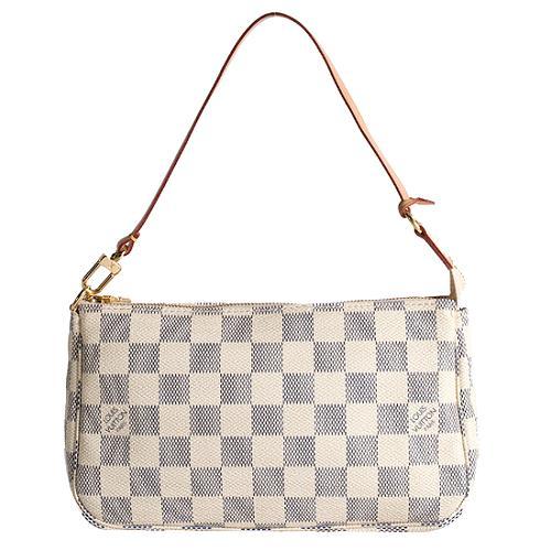 Louis Vuitton Damier Azur Pochette Accessoires Shoulder Handbag