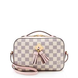 Louis Vuitton Damier Azur Saintonge Shoulder Bag