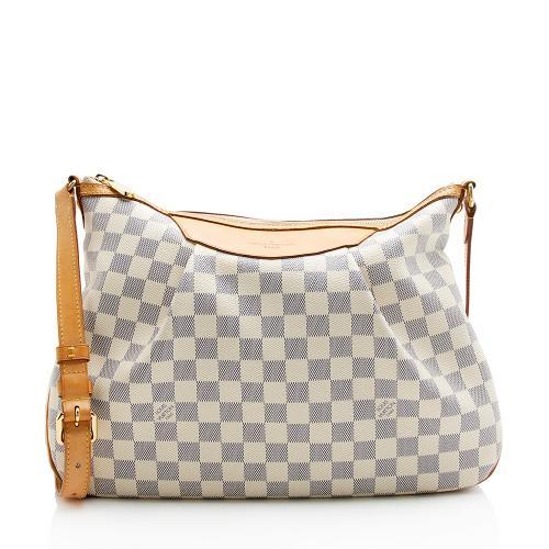 Louis Vuitton Damier Azur Siracusa MM Shoulder Bag