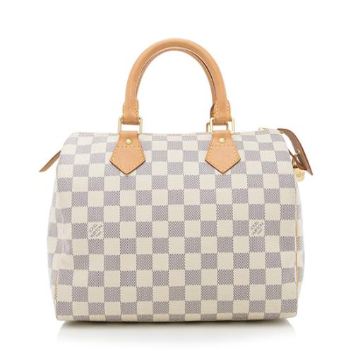 b8b1bb4feebae Louis-Vuitton-Damier-Azur-Speedy-25-Satchel--FINAL-SALE - 83575 front large 0.jpg