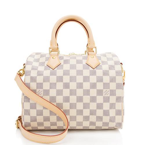 Louis Vuitton Damier Azur Speedy Bandouliere 25 Satchel