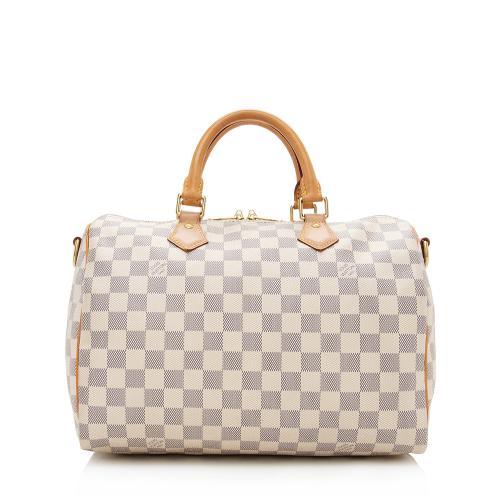 Louis Vuitton Damier Azur Speedy Bandouliere 30 Satchel