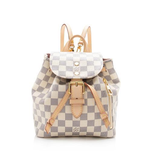 Louis Vuitton Damier Azur Sperone BB Backpack