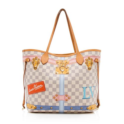 a74a3518aa02 Louis-Vuitton-Damier-Azur-Summer-Trunk-Neverfull-MM -Tote 99507 front large 0.jpg