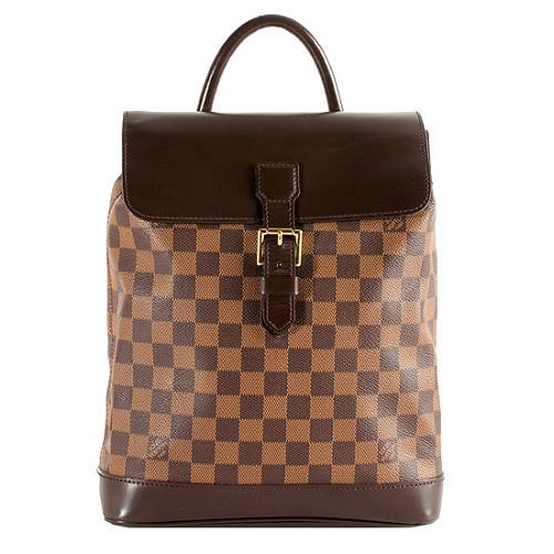Louis Vuitton Damier Canvas Soho Backpack