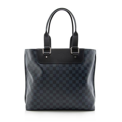 Louis Vuitton Damier Cobalt Cabas Voyage Tote