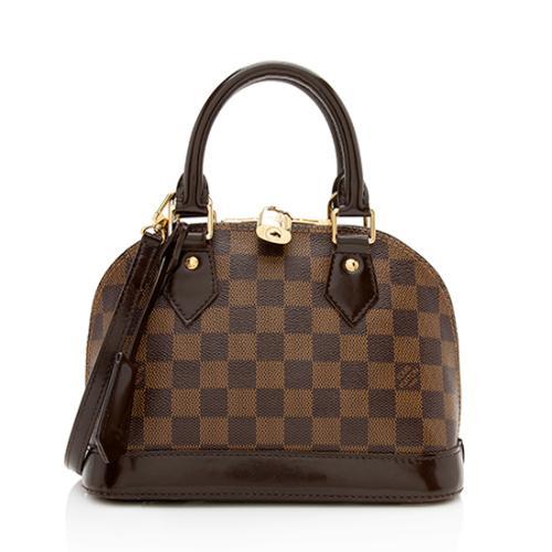 Louis Vuitton Damier Ebene Alma BB Shoulder Bag - FINAL SALE