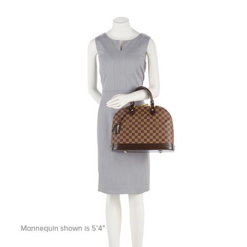 7d77387efbc08 LV bag Alma Damier ... Good quality Used LOUIS VUITTON ...