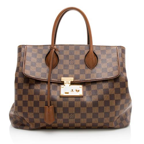 Louis Vuitton Damier Ebene Ascot Satchel 86b55dd7c