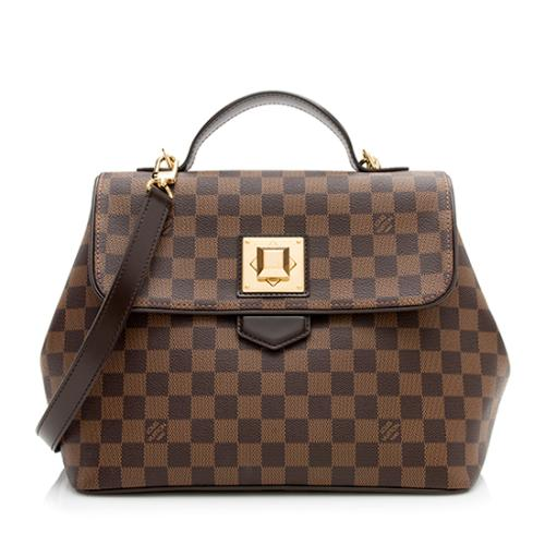 Louis Vuitton Damier Ebene Bergamo MM Satchel
