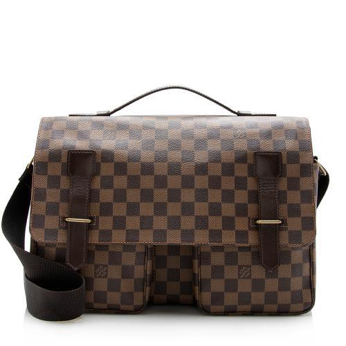 Louis Vuitton Damier Ebene Broadway Messenger Bag