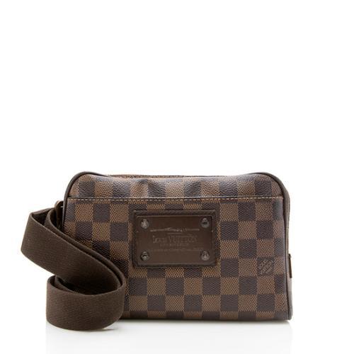 Louis Vuitton Damier Ebene Brooklyn Belt Bag