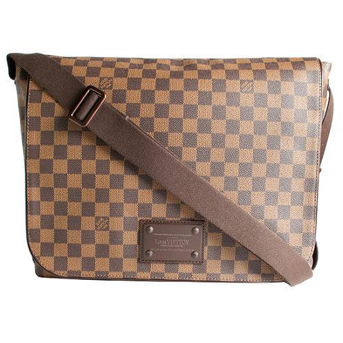 Louis Vuitton Damier Ebene Brooklyn GM Messenger Bag