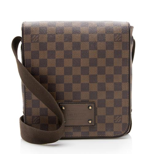 Louis Vuitton Damier Ebene Brooklyn PM Messenger Bag