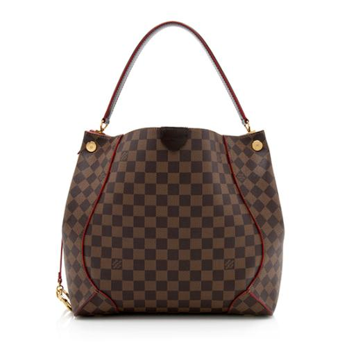 Louis Vuitton Damier Ebene Caissa Hobo