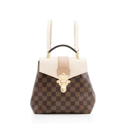 Louis Vuitton Damier Ebene Clapton Backpack