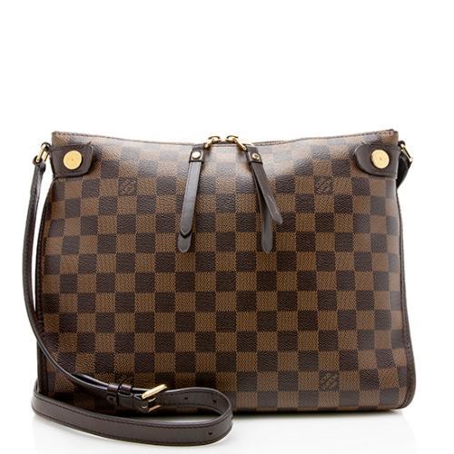 Louis Vuitton Damier Ebene Duomo Shoulder Bag