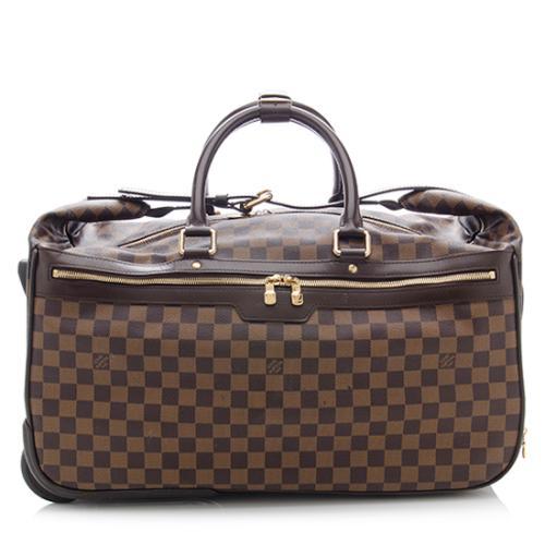 221c5861c8511 Louis-Vuitton-Damier-Ebene-Eole-60-Rolling-Luggage -Bag 73249 front large 0.jpg