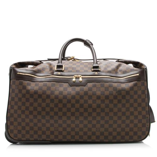 Louis Vuitton Damier Ebene Eole 60 Rolling Luggage Bag