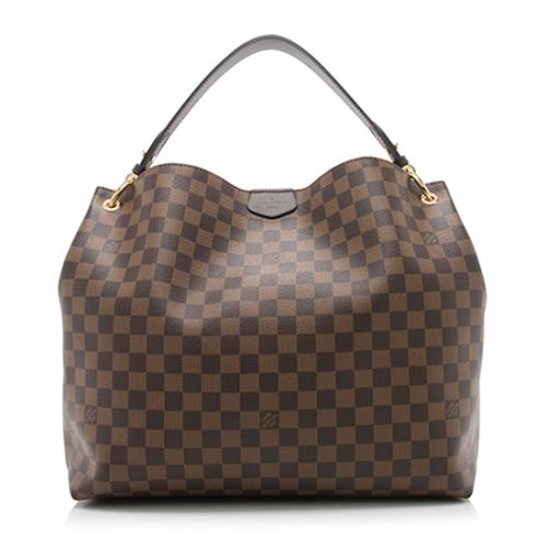Louis Vuitton Damier Ebene Graceful MM Hobo