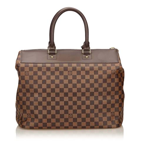 Louis Vuitton Damier Ebene Greenwich PM Satchel