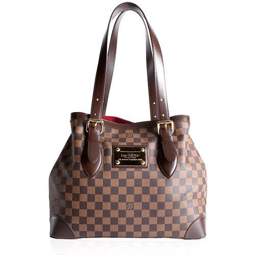 Louis-Vuitton-Damier-Ebene-Hampstead -MM-Shoulder-Handbag 32511 front large 1.jpg f6040c9e813c
