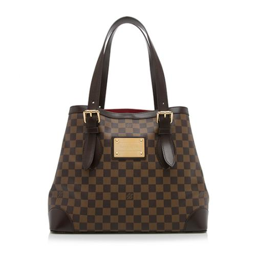 Louis Vuitton Damier Ebene Hampstead MM Tote