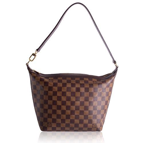 Louis Vuitton Damier Ebene Illovo MM Shoulder Handbag