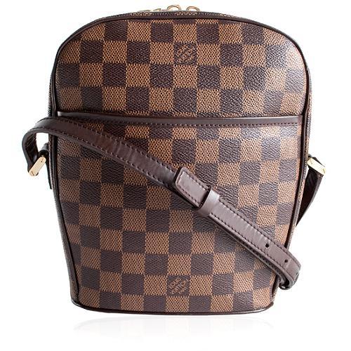Louis Vuitton Damier Ebene Ipanema PM Shoulder Handbag