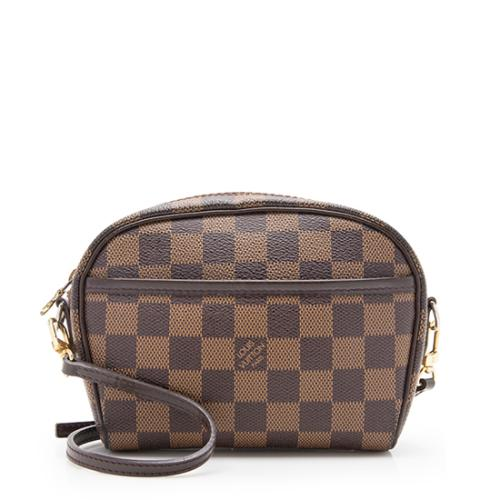 Louis Vuitton Damier Ebene Ipanema Pochette Crossbody Bag