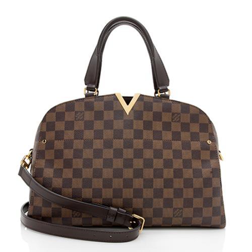 Louis Vuitton Damier Ebene Kensington Bowler Bag