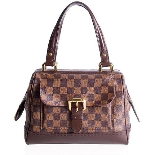 Louis Vuitton Damier Ebene Knightsbridge Satchel Handbag