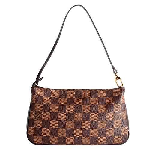 Louis Vuitton Damier Ebene Navona Shoulder Handbag