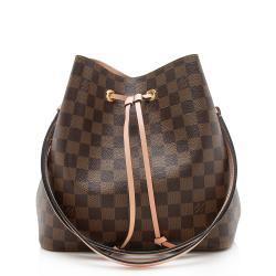 Louis Vuitton Damier Ebene Neonoe Shoulder Bag
