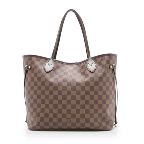 Louis-Vuitton-Damier-Ebene-Neverfull-MM-Tote 98320 front large 0.jpg caf620619ca12