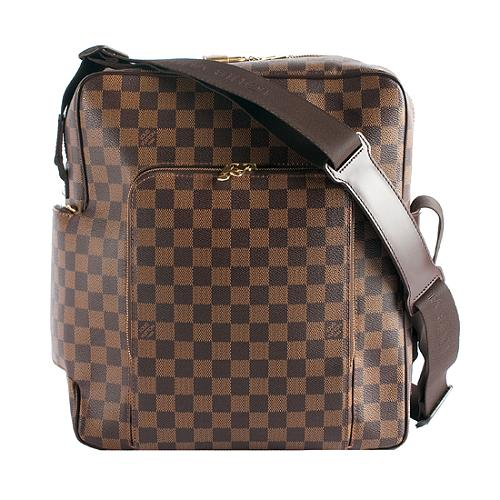 Louis Vuitton Damier Ebene Olav GM Messenger Handbag