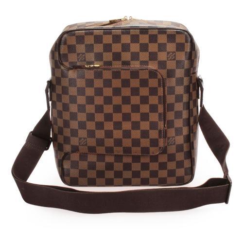 Louis Vuitton Damier Ebene Olav MM Messenger Bag