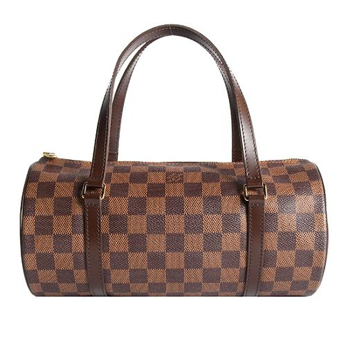 Louis Vuitton Damier Ebene Papillon 26 Satchel Handbag