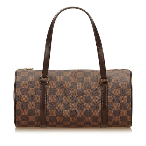 Louis Vuitton Damier Ebene Papillon 26 Satchel