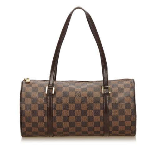 Louis Vuitton Damier Ebene Papillon 30 Satchel