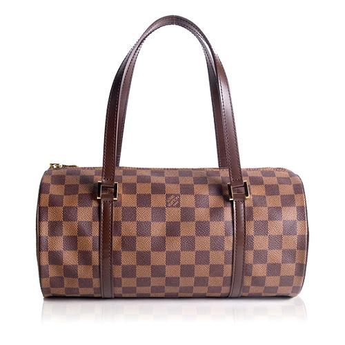 Louis Vuitton Damier Ebene Papillon 30 Satchel Handbag