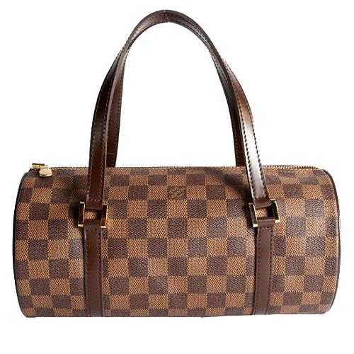 Louis Vuitton Damier Ebene Papillon 30 Satchel Handbag