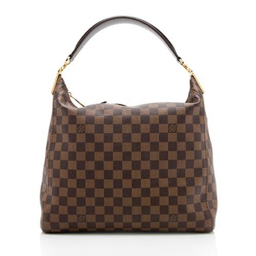 Louis Vuitton Damier Ebene Portobello PM Shoulder Bag