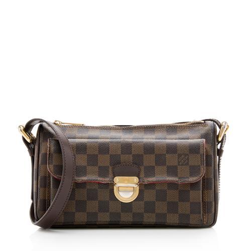Louis Vuitton Damier Ebene Ravello GM Shoulder Bag w/ Long Strap