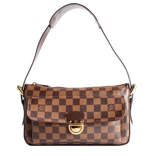 Louis Vuitton Damier Ebene Ravello GM Shoulder Handbag