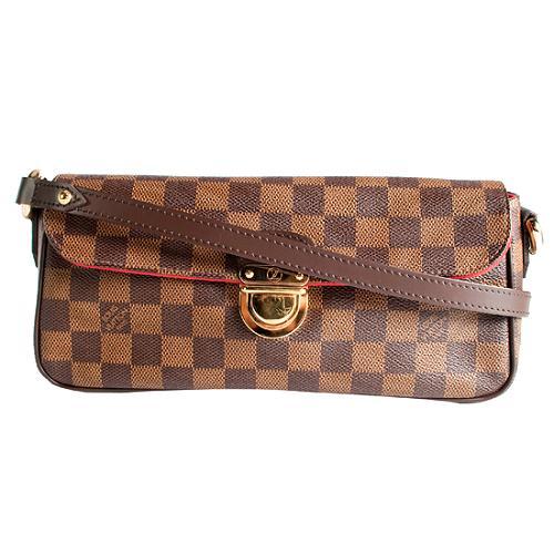 Louis Vuitton Damier Ebene Ravello PM Shoulder Handbag
